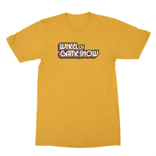 Wheel of Game Show Logo Shirt