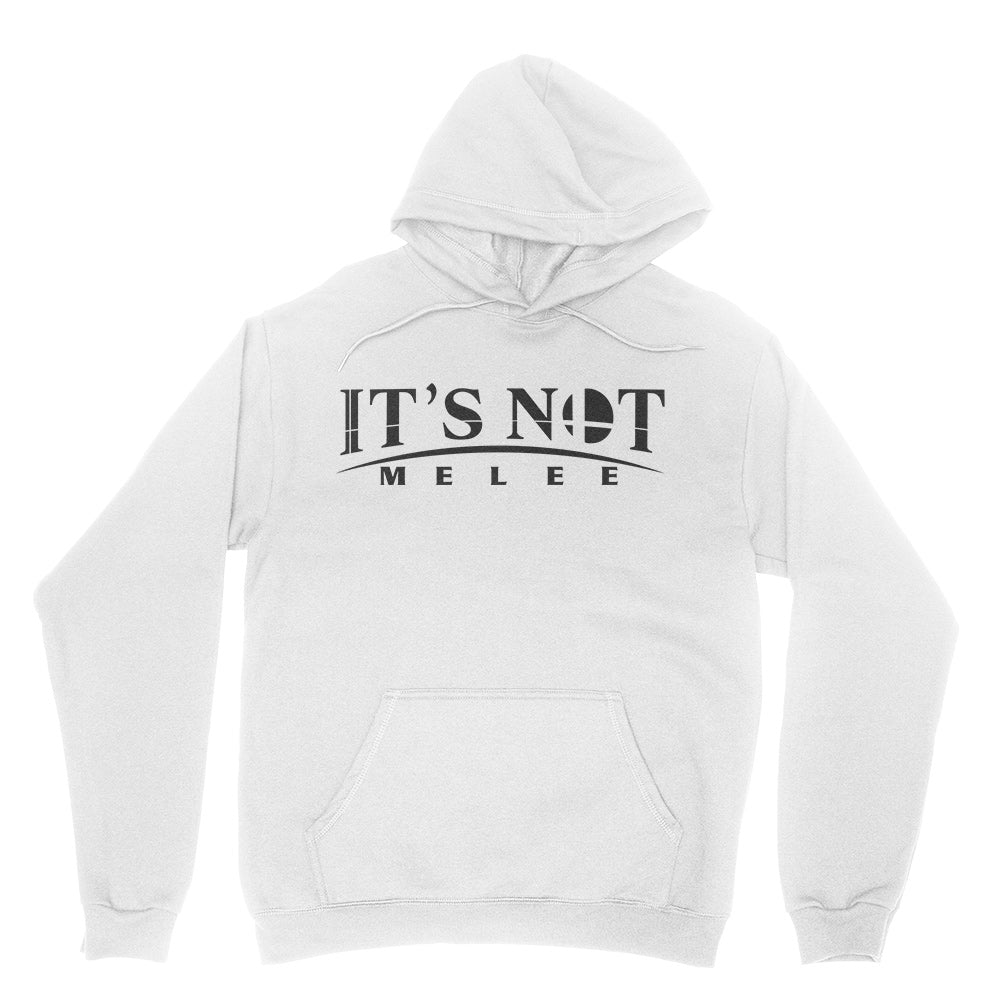 It's Not Melee - Unisex Pullover Hoodie White