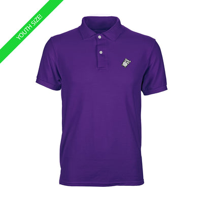 Fat Koala Youth Polo Purple
