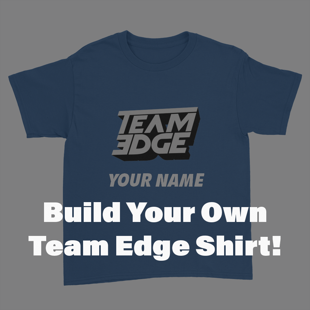 Team edge build your own kids youth t shirt crowdmade Build your own t shirts