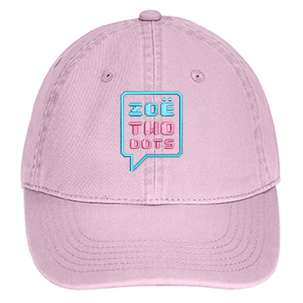 ZoeTwoDots - Embroidered Dad Hat