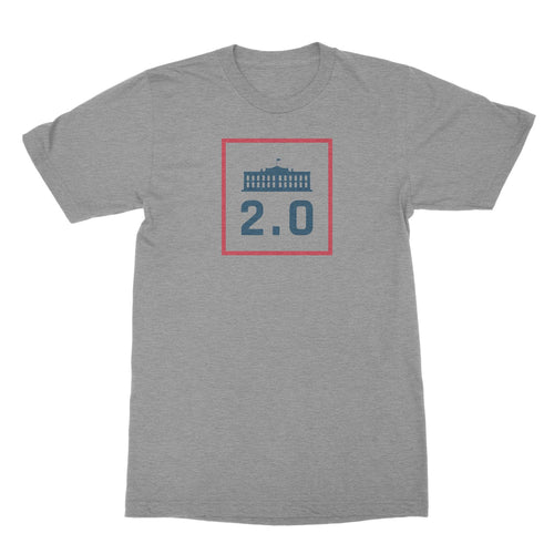 America 2.0 T-Shirt Athletic Heather
