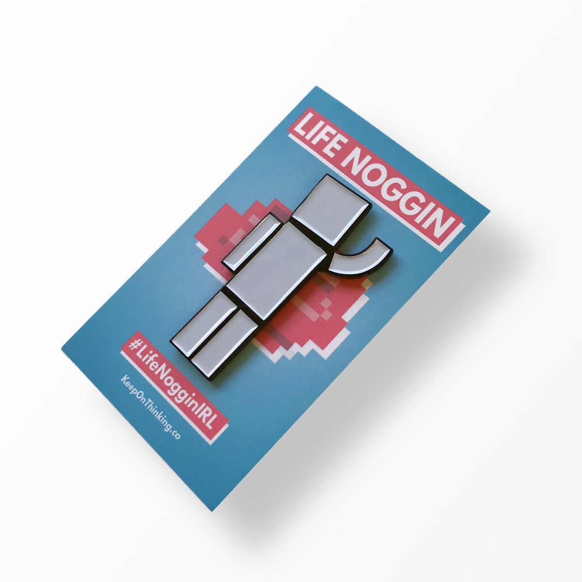 Take Blocko With You - Enamel Pin