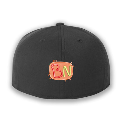 Bathaniel Nandy - Embroidered Fitted Cap