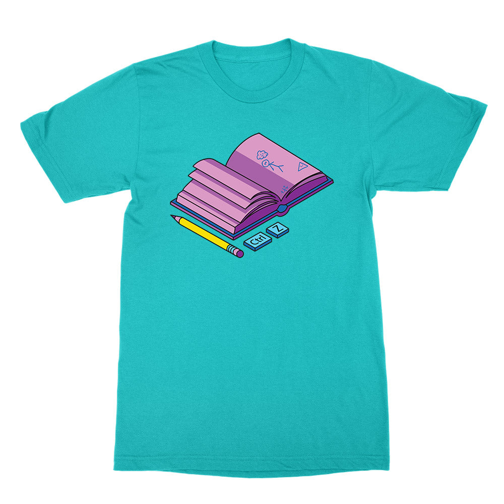 CTRL-Z - Sketchbook - Unisex T-Shirt