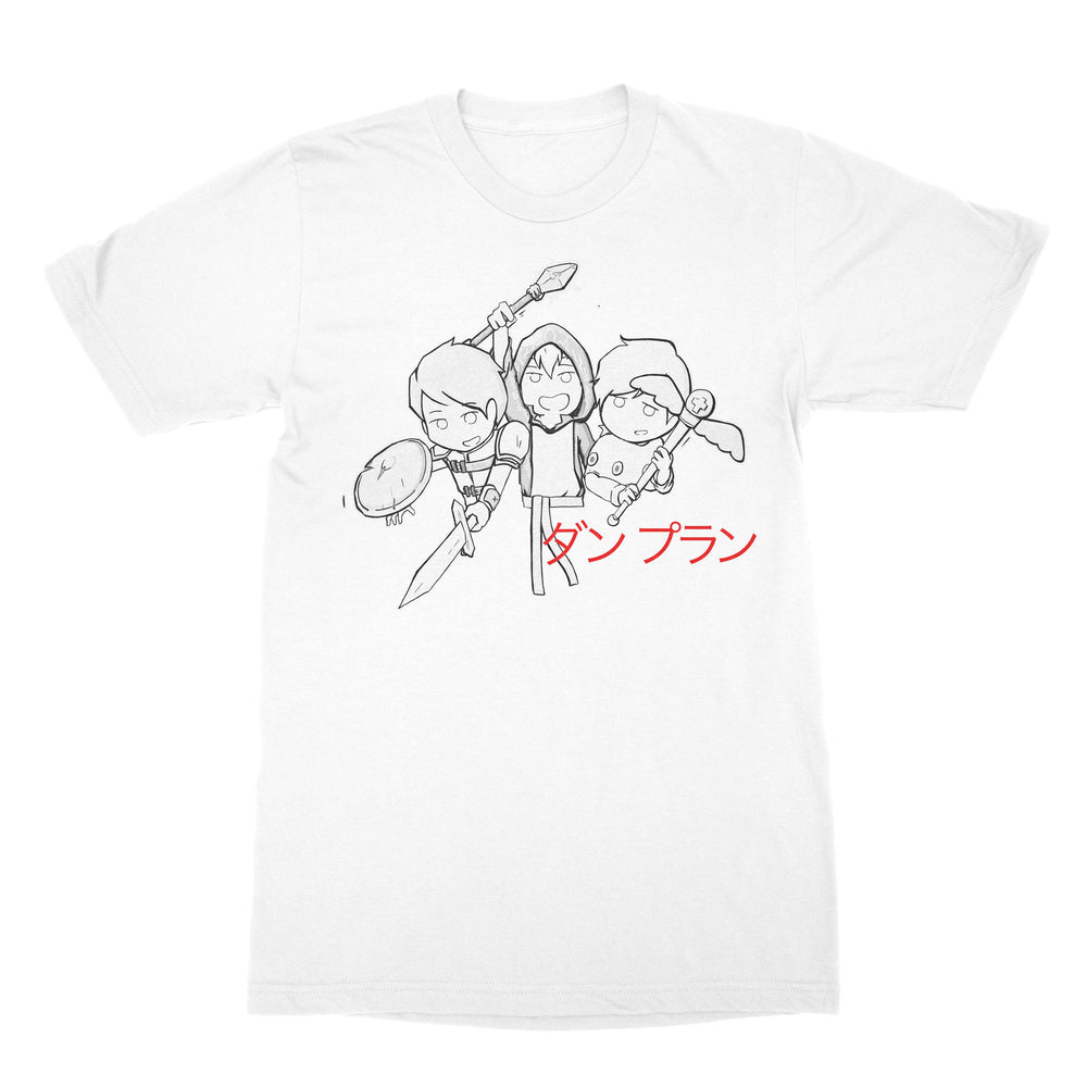 RPG Adventure Anime Shirt White