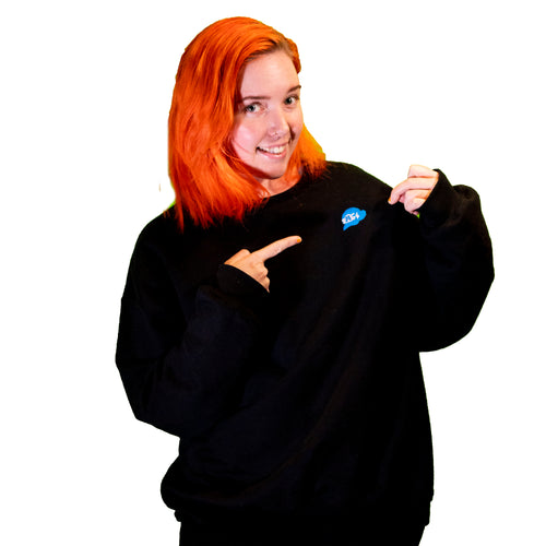 SMG4 Logo Embroidered Sweatshirt