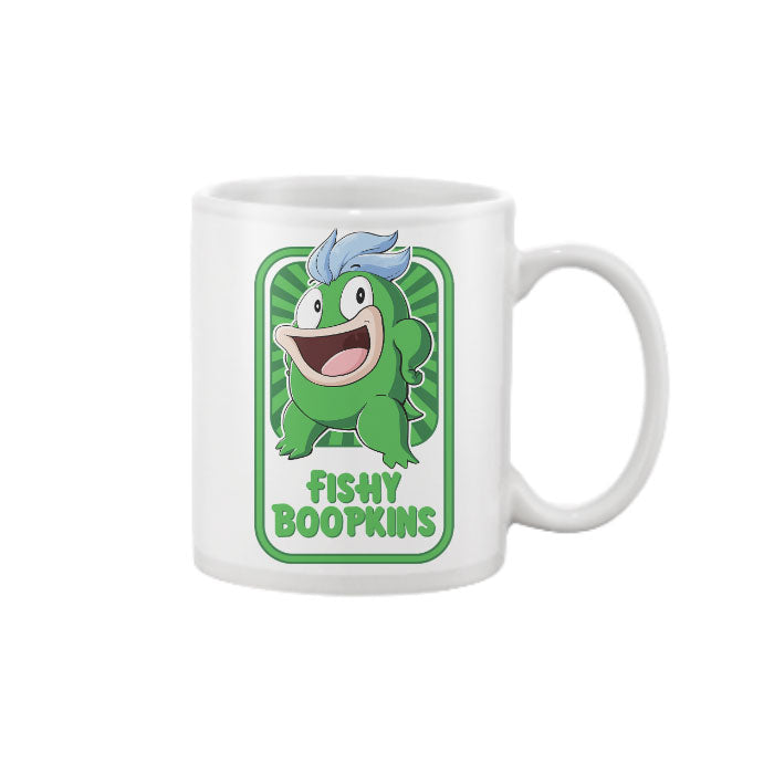 Fishy Boopkins Mug White