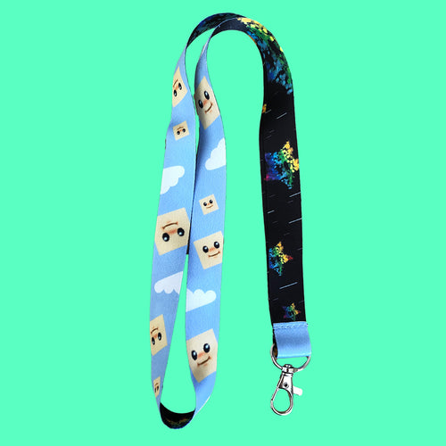 Bupface Drippy Star Lanyard