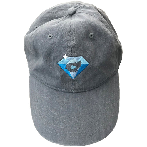 10 Million Diamond Dad Hat Denim