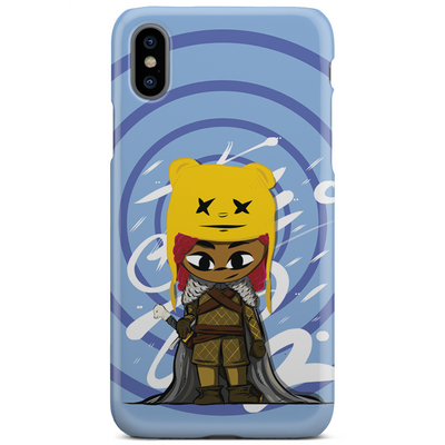 Buddy Behind The Wall iPhone Case