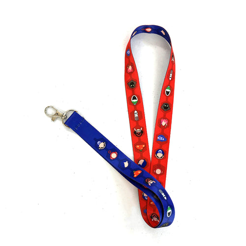 The SMG4 Lanyard