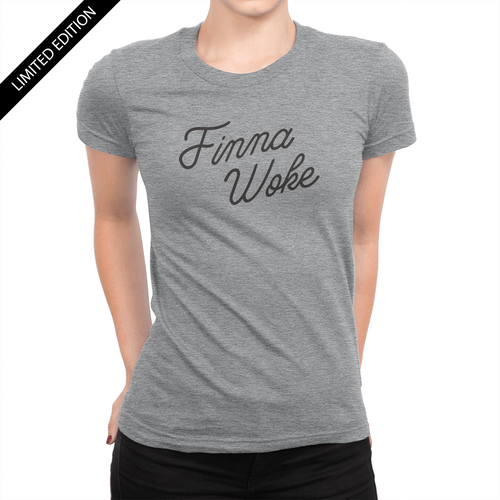 Finna Woke - Ladies T-Shirt