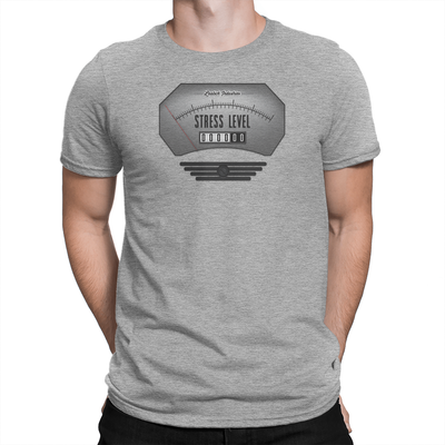 Classic Stress Level Zero Unisex Shirt Light Heather Grey