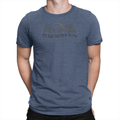 Tractor Pile Unisex Shirt Heather Navy