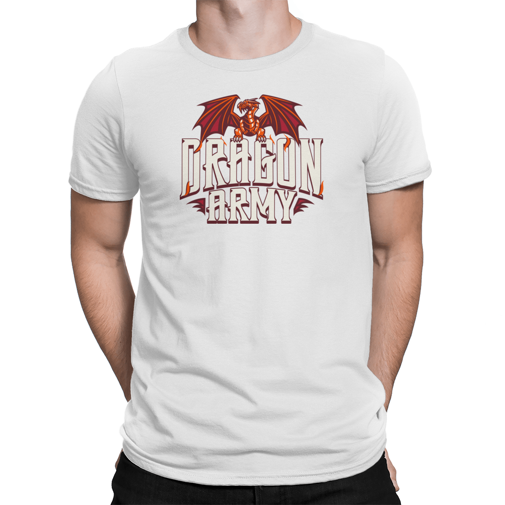 Dragon Army - Tshirt White