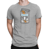 Happiness Jar Unisex Shirt Light Heather Grey