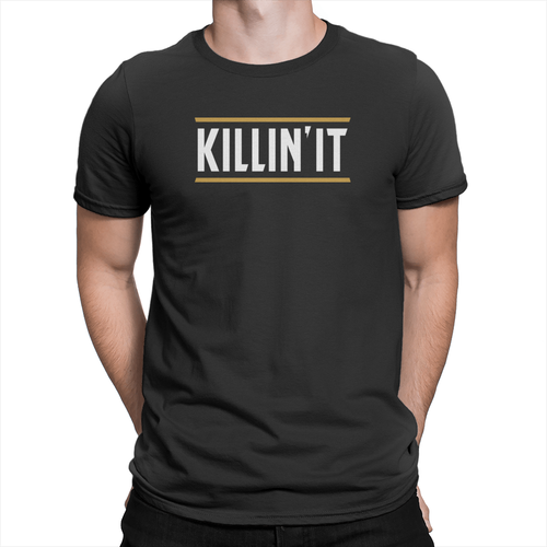 Killin' It Unisex Shirt Black