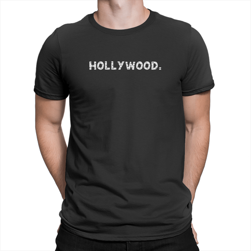 Hollywood Unisex Shirt Black