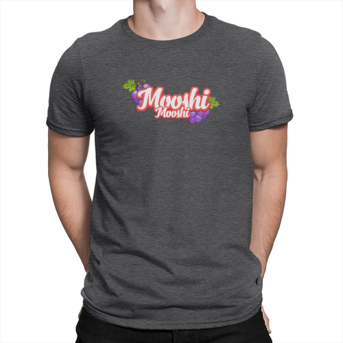 Mooshi Mooshi Shirt Heather Charcoal
