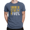 Immersive as F#$% T-shirt Heather Navy