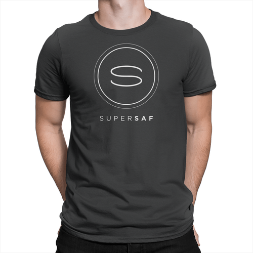 SuperSaf Logo - Unisex T-Shirt Black