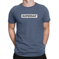 SuperSaf White Block - Unisex T-Shirt