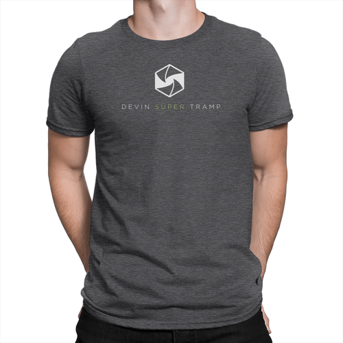 Devin Super Tramp - Unisex T-Shirt Heather Charcoal