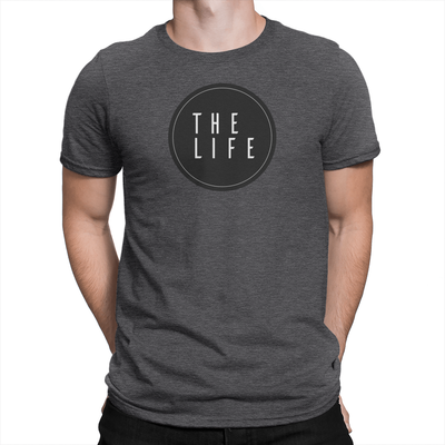 The Life - Unisex T-Shirt Heather Charcoal