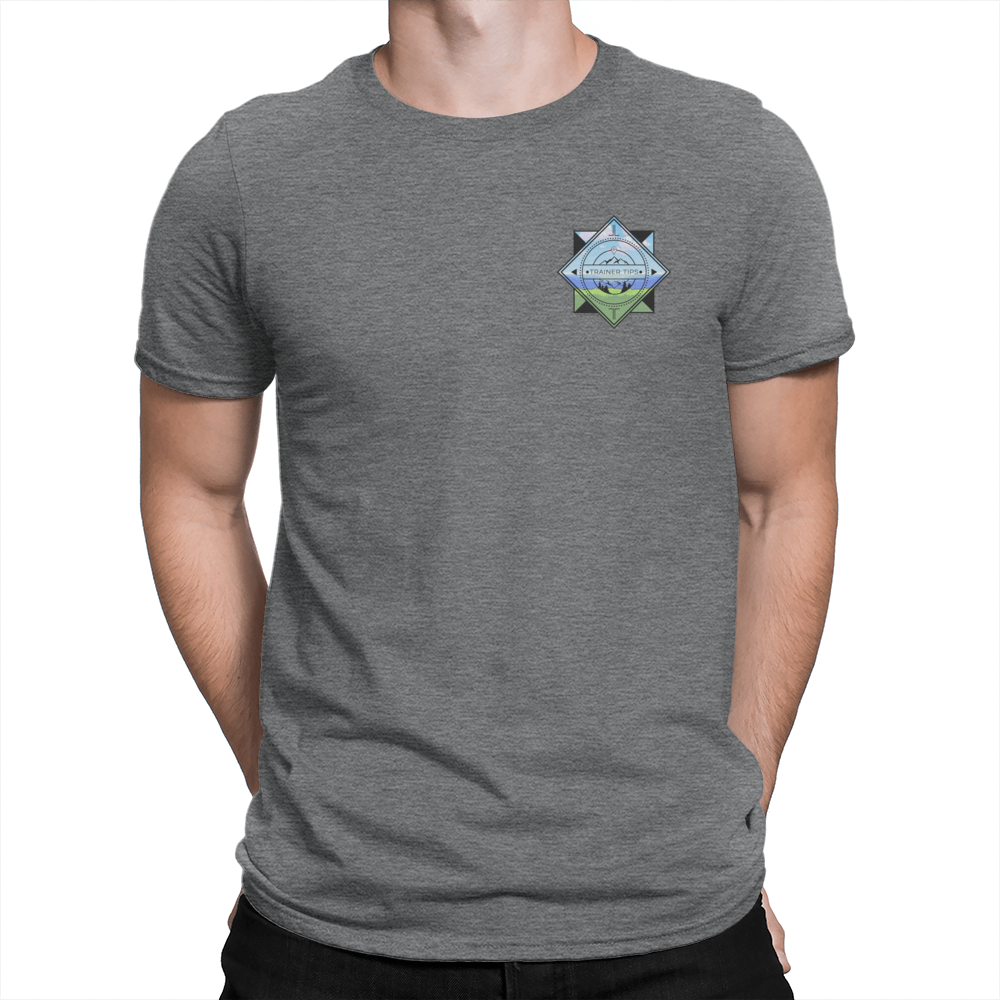 Super Trainer Tips Color Pocket Logo - Unisex T-Shirt – Crowdmade QM73