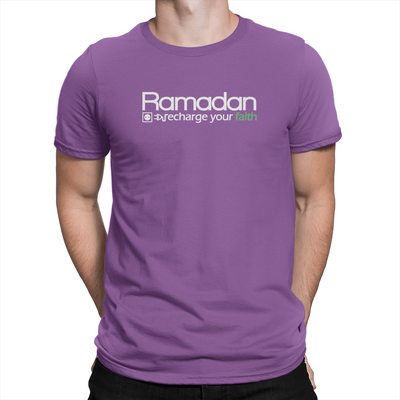 Ramadan Recharge - Unisex T-Shirt Team Purple