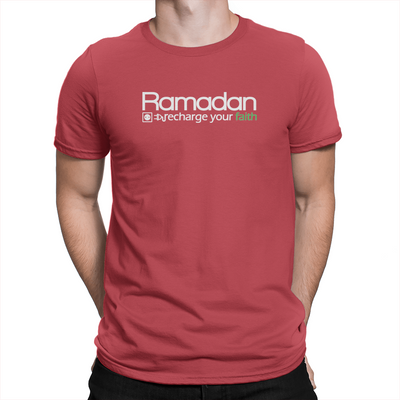 Ramadan Recharge - Unisex T-Shirt Red