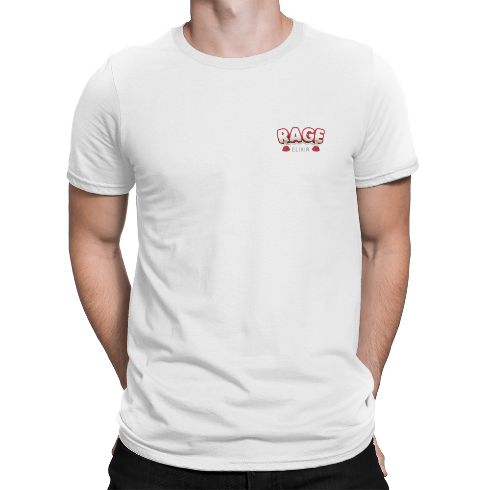 Lovely Pocket Logo White - Unisex T-Shirt – Crowdmade TN16