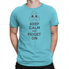 Keep Calm - Unisex T-Shirt Turquoise