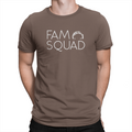 Fam Squad - Unisex T-Shirt Brown