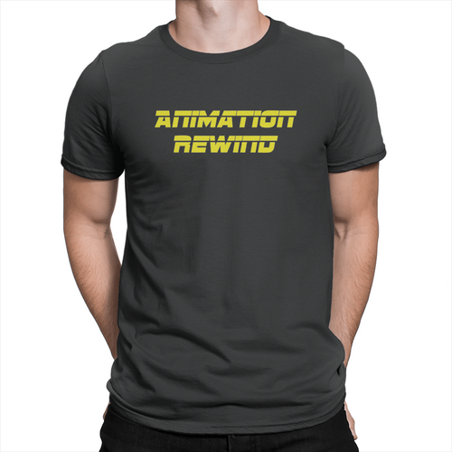 Animation Rewind - Unisex T-Shirt Black