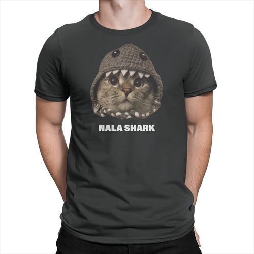 Nala Shark - Unisex T-Shirt Black