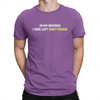 In My Defense - Unisex T-Shirt Team Purple