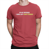 In My Defense - Unisex T-Shirt Red