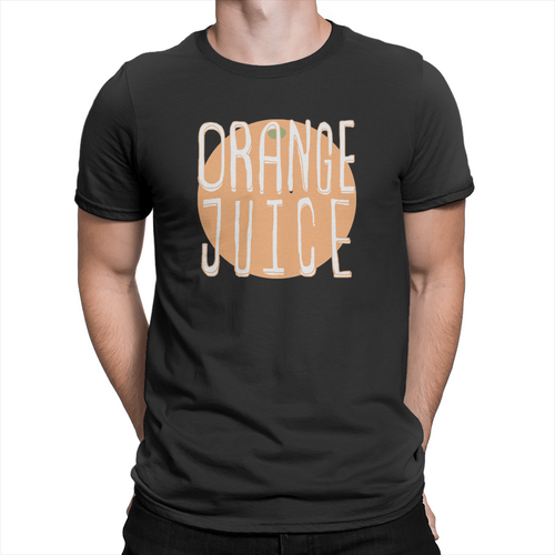 Orange Juice - Unisex T-Shirt Black
