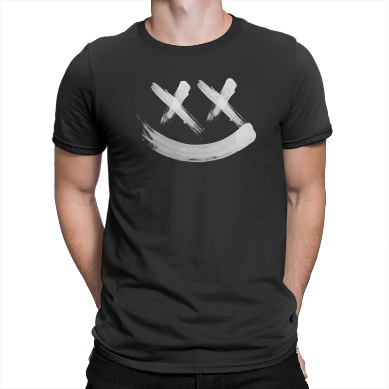 Smiley Two Sided - Unisex T-Shirt