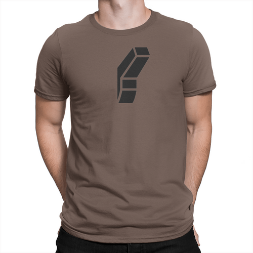 Light Switch - Unisex T-Shirt Brown