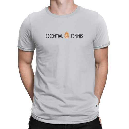 Essential Tennis Logo - Unisex T-Shirt