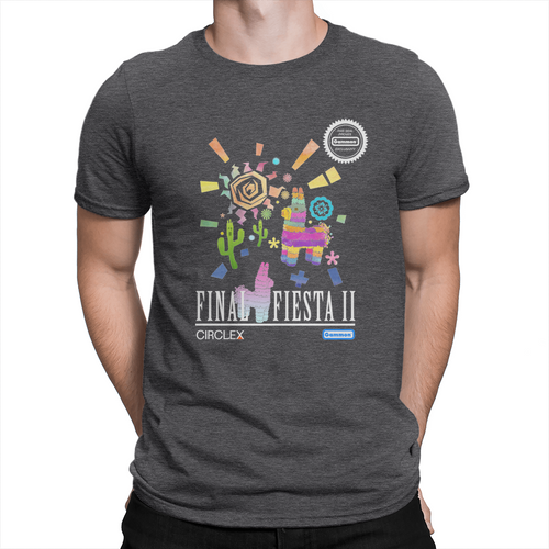Final Fiesta 2 - Unisex T-Shirt Heather Charcoal