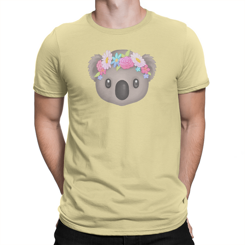 Koala - Unisex T-Shirt Banana Cream