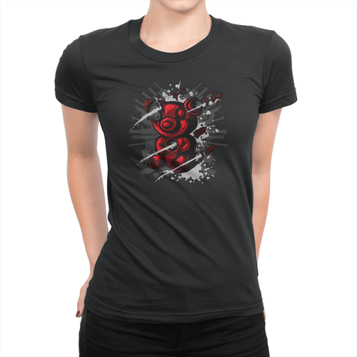 Tactical Gummy Bear - Ladies T-Shirt