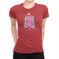 8 Bit Cat - Ladies Shirt