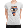 Clout Chaser - Ladies Shirt White