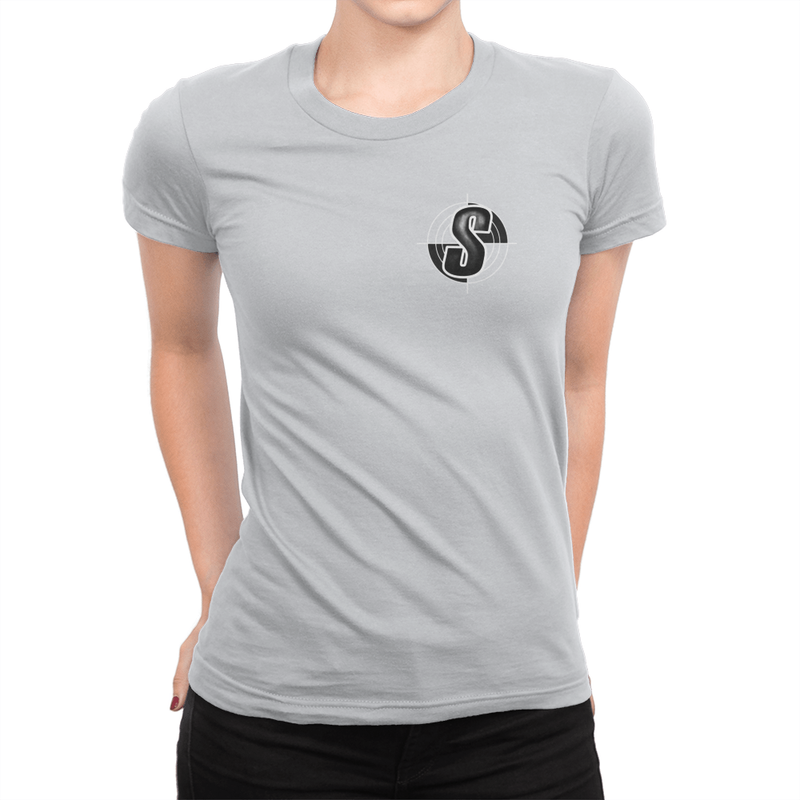 Shoddy Cast Pocket Logo - Ladies T-Shirt