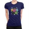 6 Kitties - Ladies T-Shirt Navy